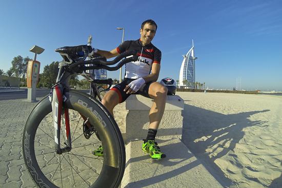 Inicio de temporada, sexto puesto en Challenge Dubai y quinto en Ironman Sudáfrica