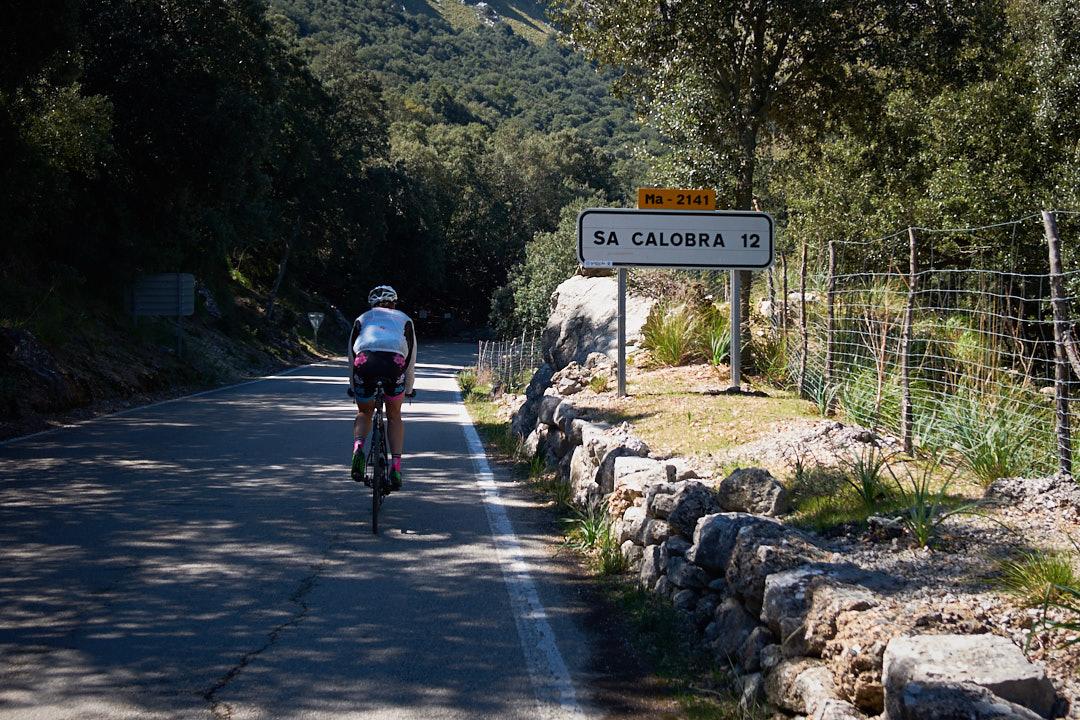 Sa Calobra cycling triathlon Ruth Brito Mallorca
