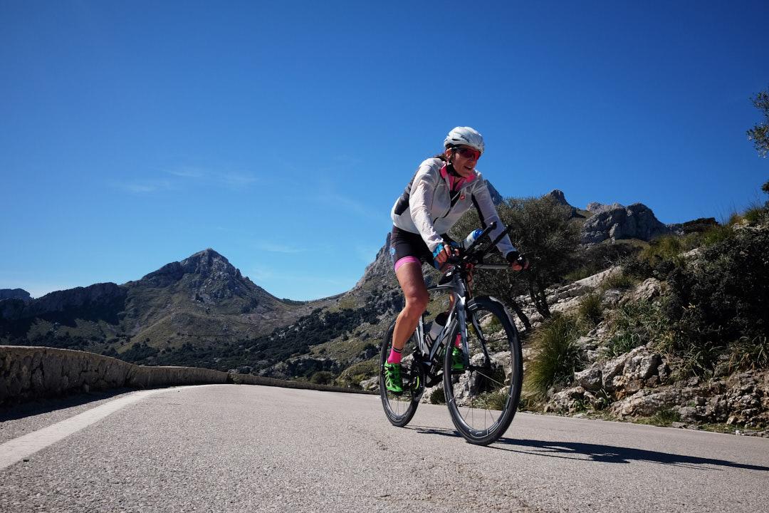 Rut Brito cycling triathlon BH HED Sa Calobra Mallorca