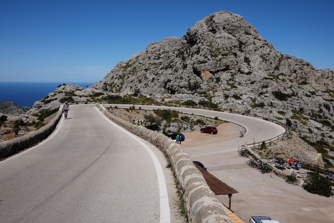 Nudo de la Corbata Sa Calobra Rut Brito Eneko Llanos Mallorca
