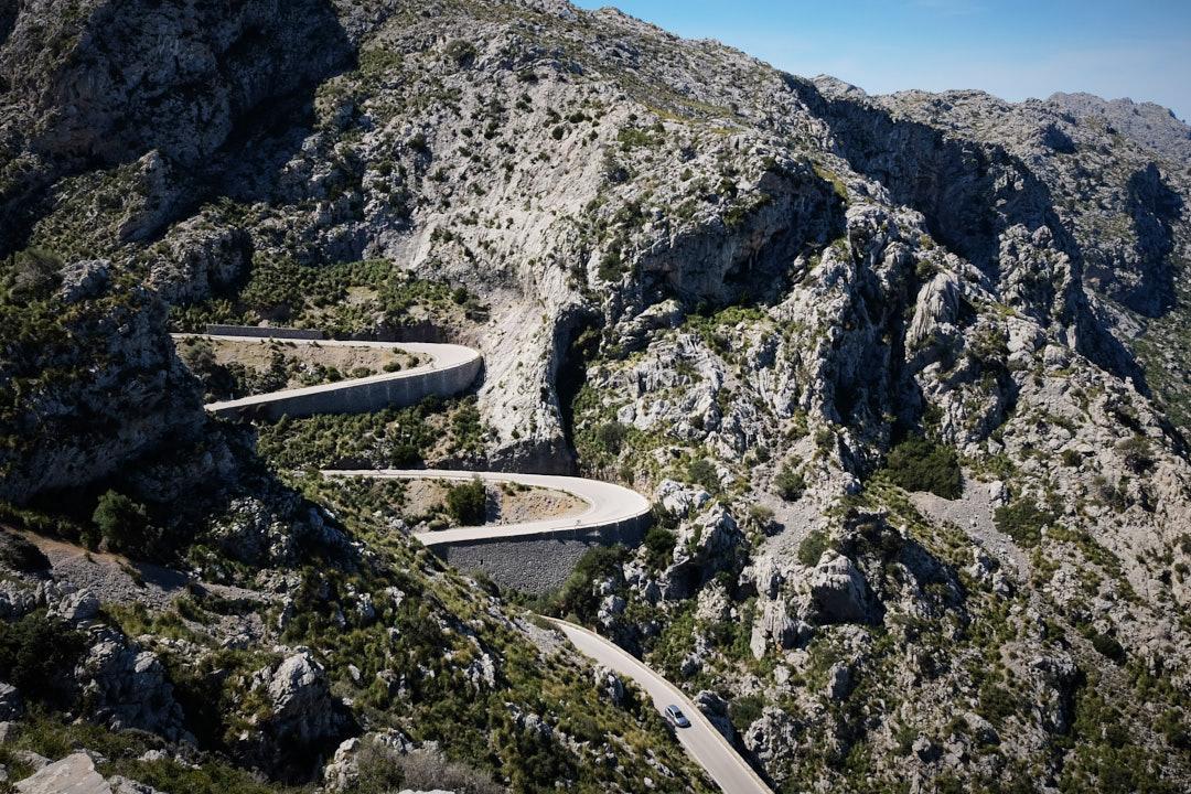 Carretera Curvas Sa Calobra