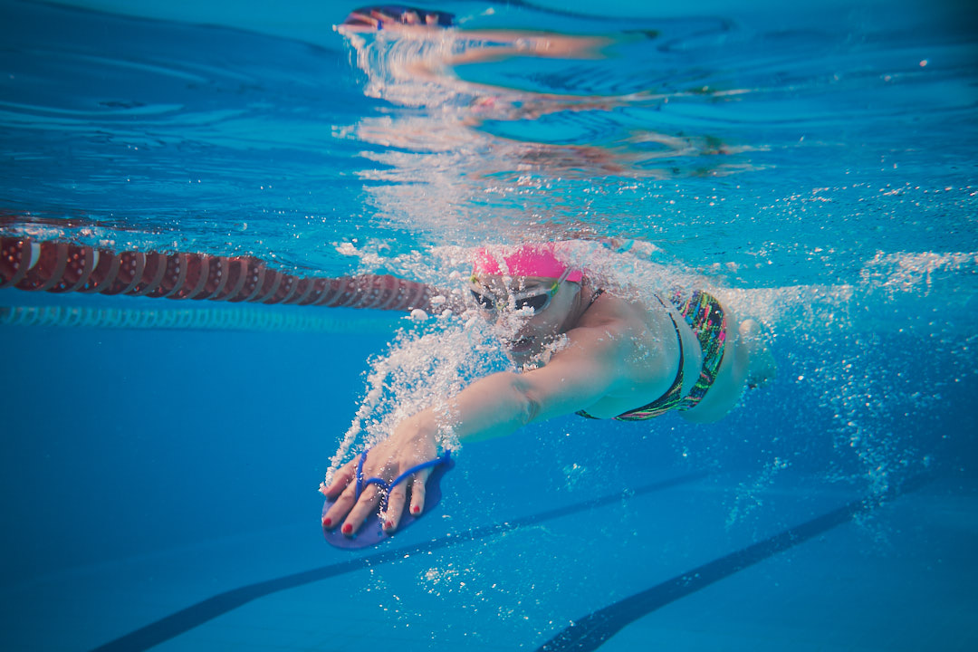 Ruth Brito natación triatlon piscina VIVA Blue Sailfish