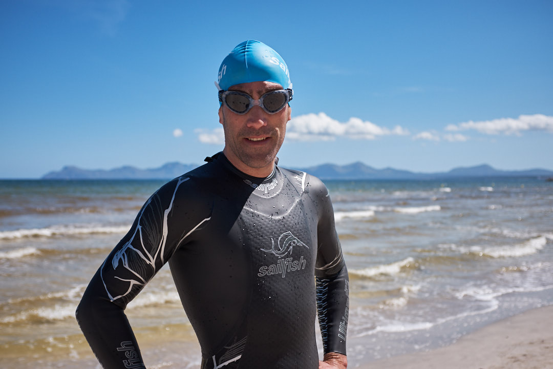 Sailfish Ultimate IPS Eneko Llanos Playa de Muro triathlon swimming