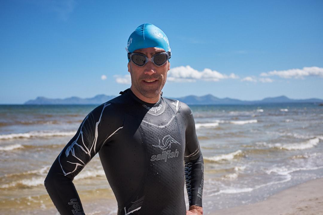 Sailfish Ultimate IPS Eneko Llanos Playa de Muro triathlon swimming